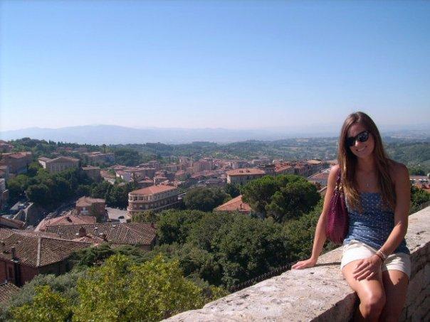 Me in Perugia in 2008