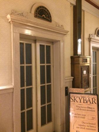 Sky Bar entrance