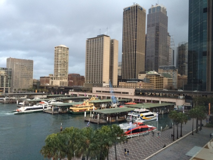 Sydney Harbour, where you can catch ferries