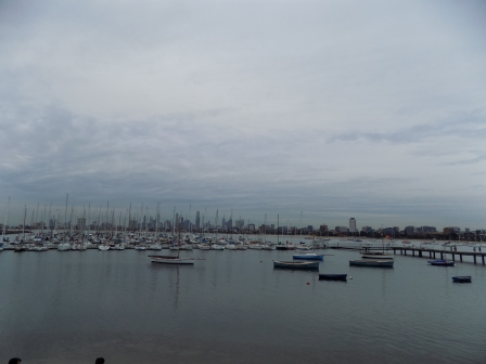 View from St. Kilda Pier