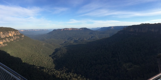 View near Scenic World