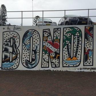 Street art in Bondi