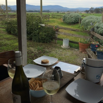 View from Yarra Valley Dairy