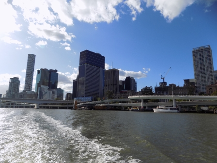 Riding on the City Hopper Ferry