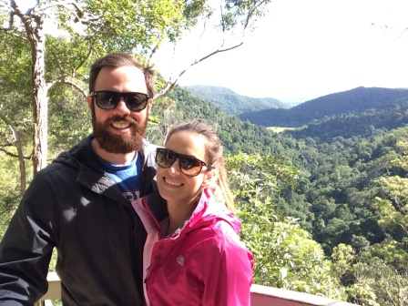 Alex and I on our visit to the Beautiful Sunshine Coast