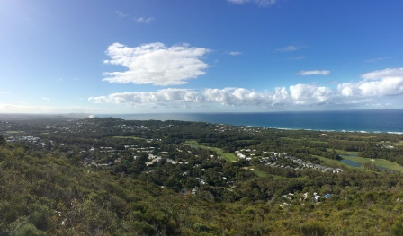 Views from Mount Coolum