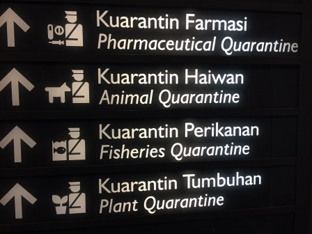 All of the quarantines at the KL airport
