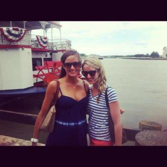 By the Savannah Riverboat