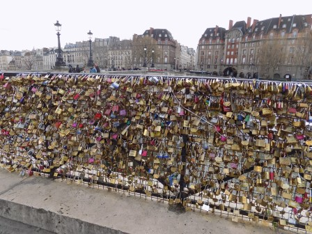 Don't worry, people continue to find new locations to place their love locks!