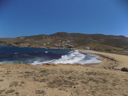 Waves at Ftelia Beach