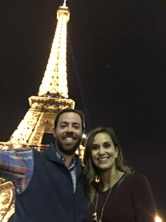 Celebrating our 4th anniversary in Paris!