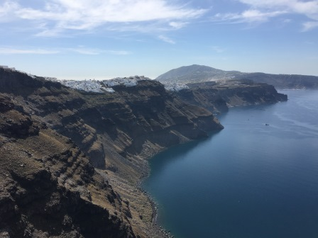 View back to Fira