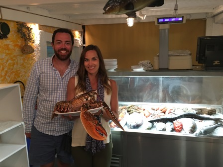 This lobster was over 200 euros!