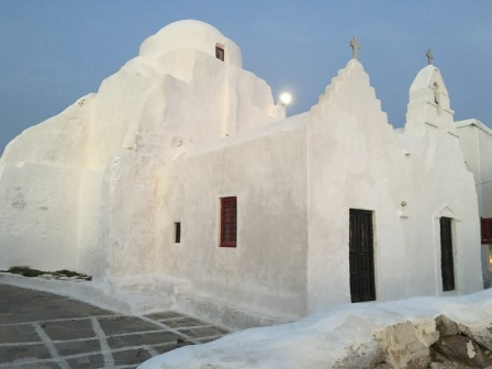 Moonlight in Mykonos