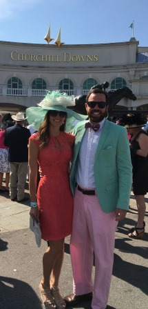 Alex and I before Kentucky Derby