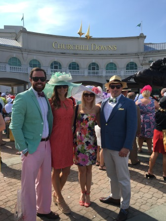 The group before the Kentucky Derby