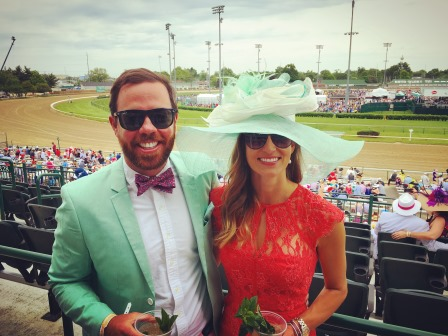 One of the best weekends ever at the Kentucky Derby!