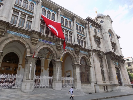Legislative building in Istanbul