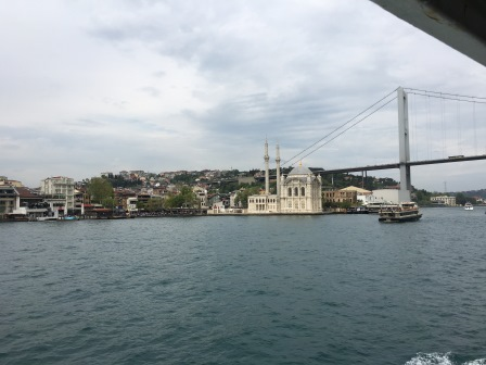 View from the Bosphorus Ferry