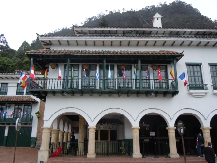 Taquilla (ticket booth) to enter Montserrate