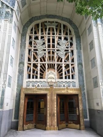 I loved the Art Deco details!