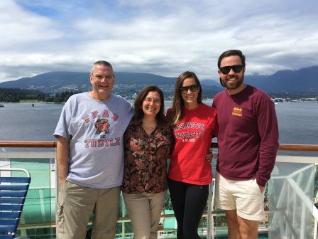 Continuing to celebrate Canada Day aboard the Radiance of the Seas