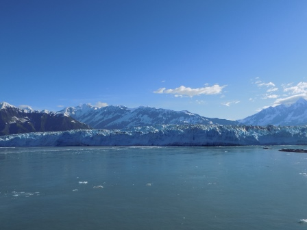 Hubbard Glacier in all of its glory