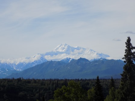 Mt. Denali in all its glory!