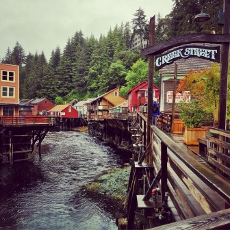 Creek Street in Historic Ketchikan