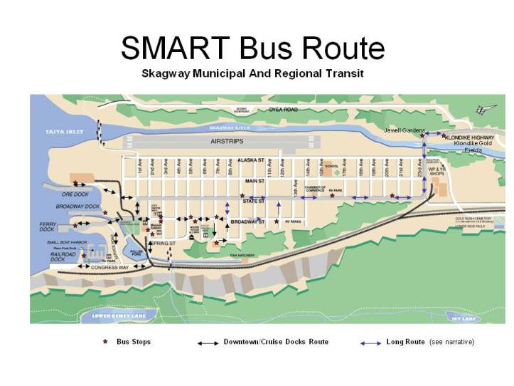SMART Bus Route Map