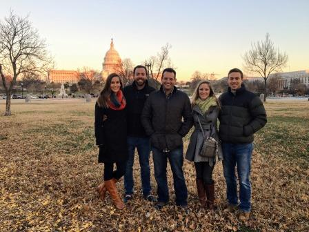 With our friends Scot, Katie, and Cullan in Washington, D.C.