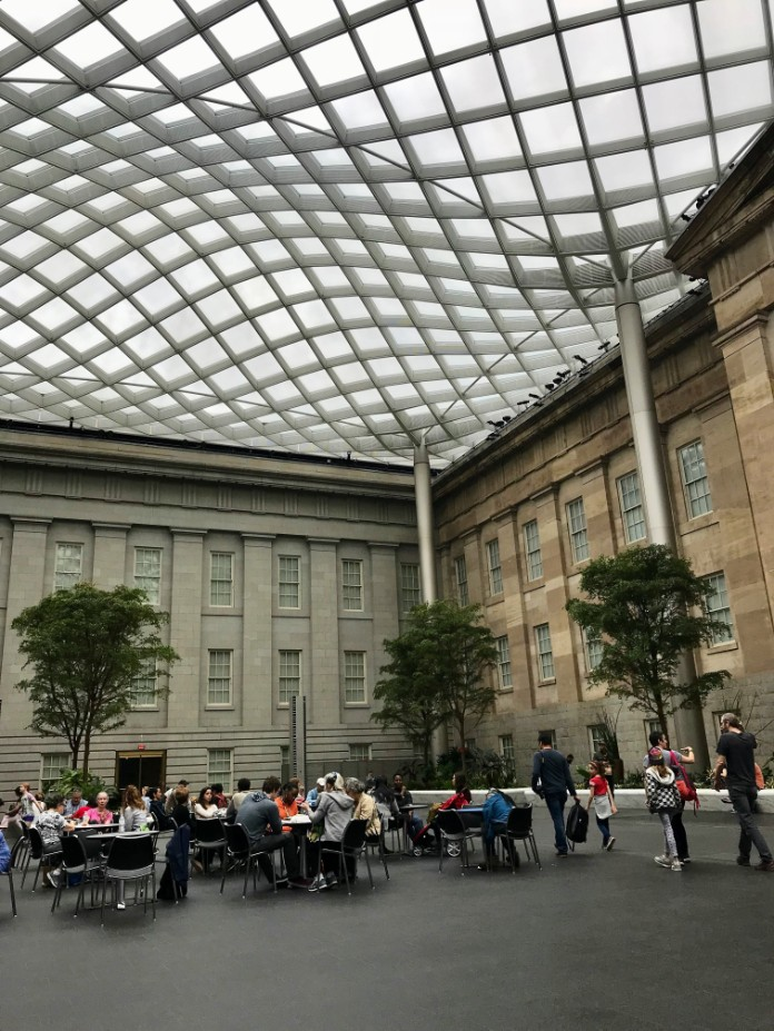 Lunch in the National Portait Gallery